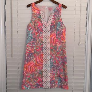 EEUC Lilly Pulitzer Ryder Shift Dress